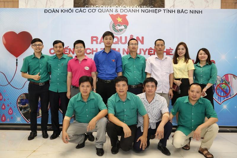 Cán bộ, đoàn viên, thanh niên, người lao động tập đoàn Dabaco Việt nam hưởng ứng hoạt động hiến máu tình nguyện năm 2019