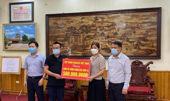 Dabaco ủng hộ 200 giường bệnh, 500 triệu đồng phòng chống Covid-19